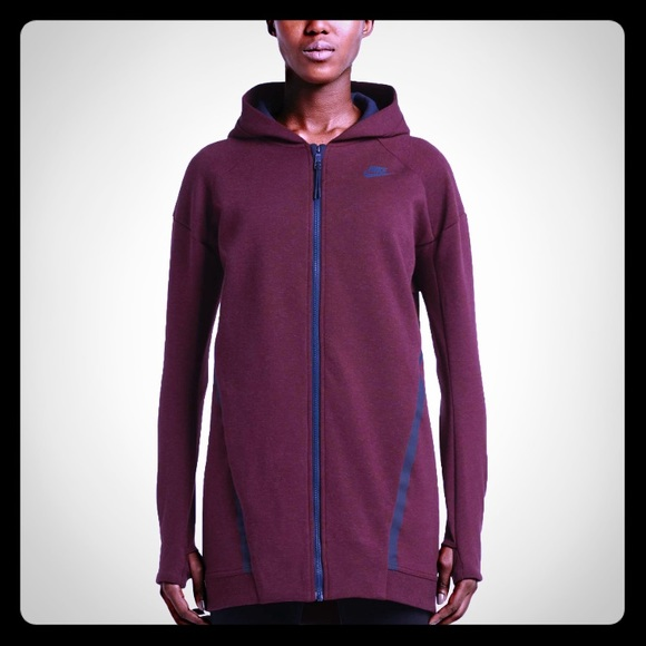 9e03abf9224e Nike Women s Tech Fleece Mesh Cocoon Jacket-Night.  M 5a5bee943800c588e5a38b0b